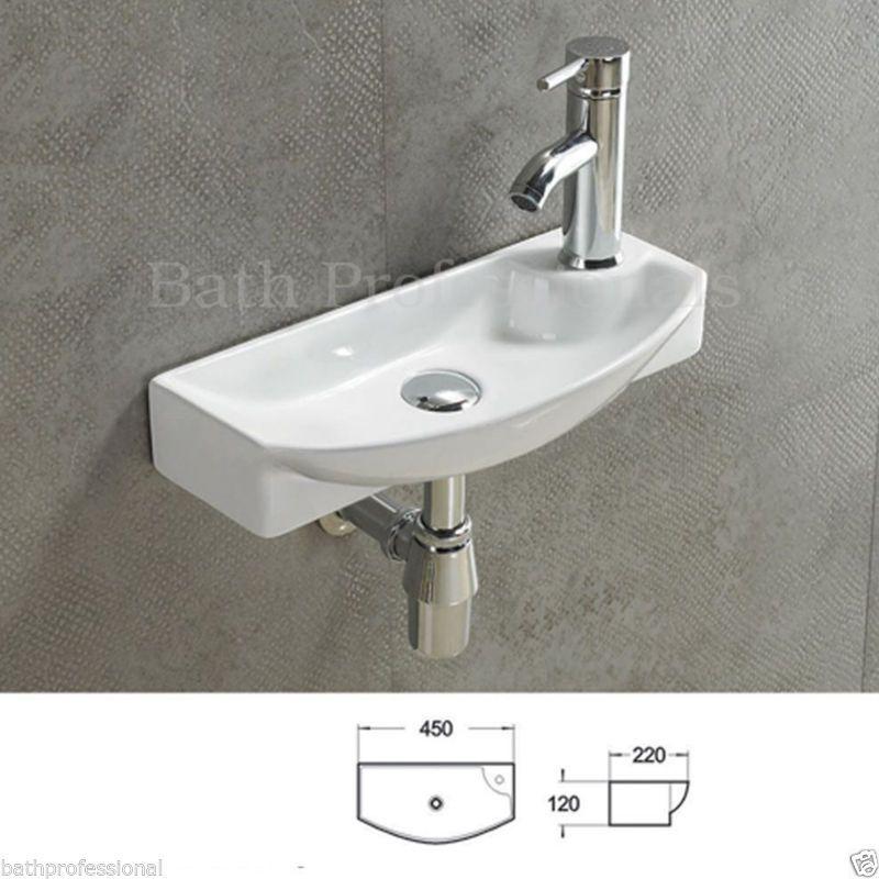 Basin Sink Bathroom Bowl Countertop Wall Hung Mounted Corner Ceramic Cloakroom Small Toilet Room Basin Sink Bathroom Washing Walls