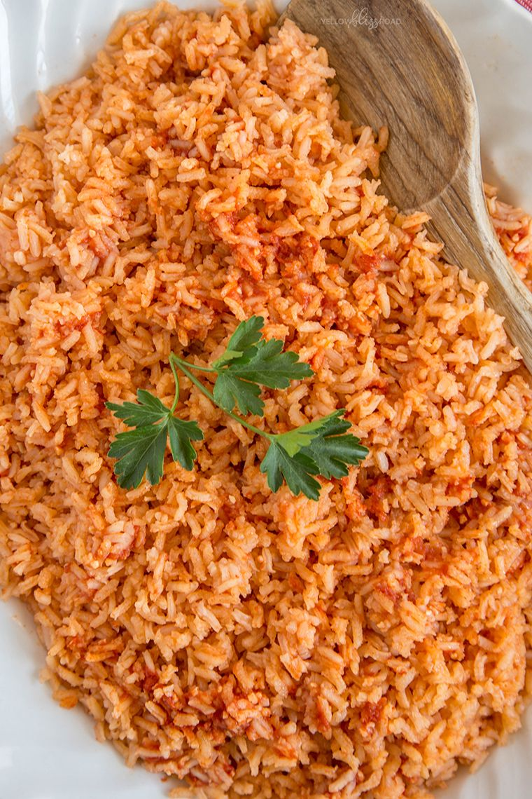 Authentic Mexican Rice Recipe Yellowblissroad Com Recipe Mexican Food Recipes Authentic Mexican Food Recipes Mexican Rice Recipes
