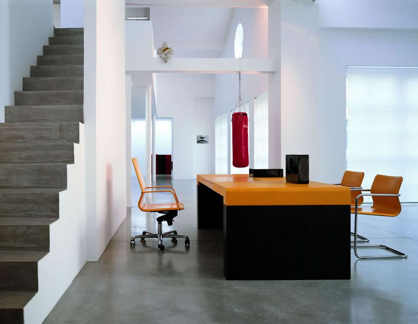 Comfortable Modern Office Design for Formal Situation Modern