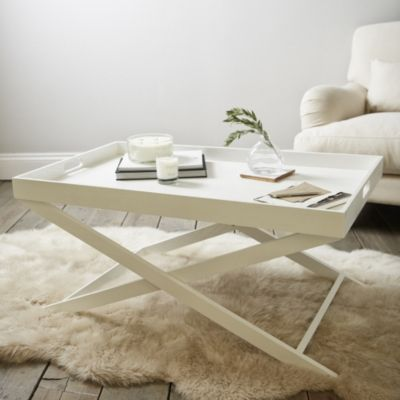 Buy Butler s Coffee Table White from The White pany