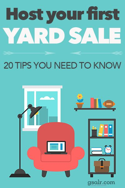 how to be a top seller 20 yard sale tips for beginners saving making money pinterest. Black Bedroom Furniture Sets. Home Design Ideas