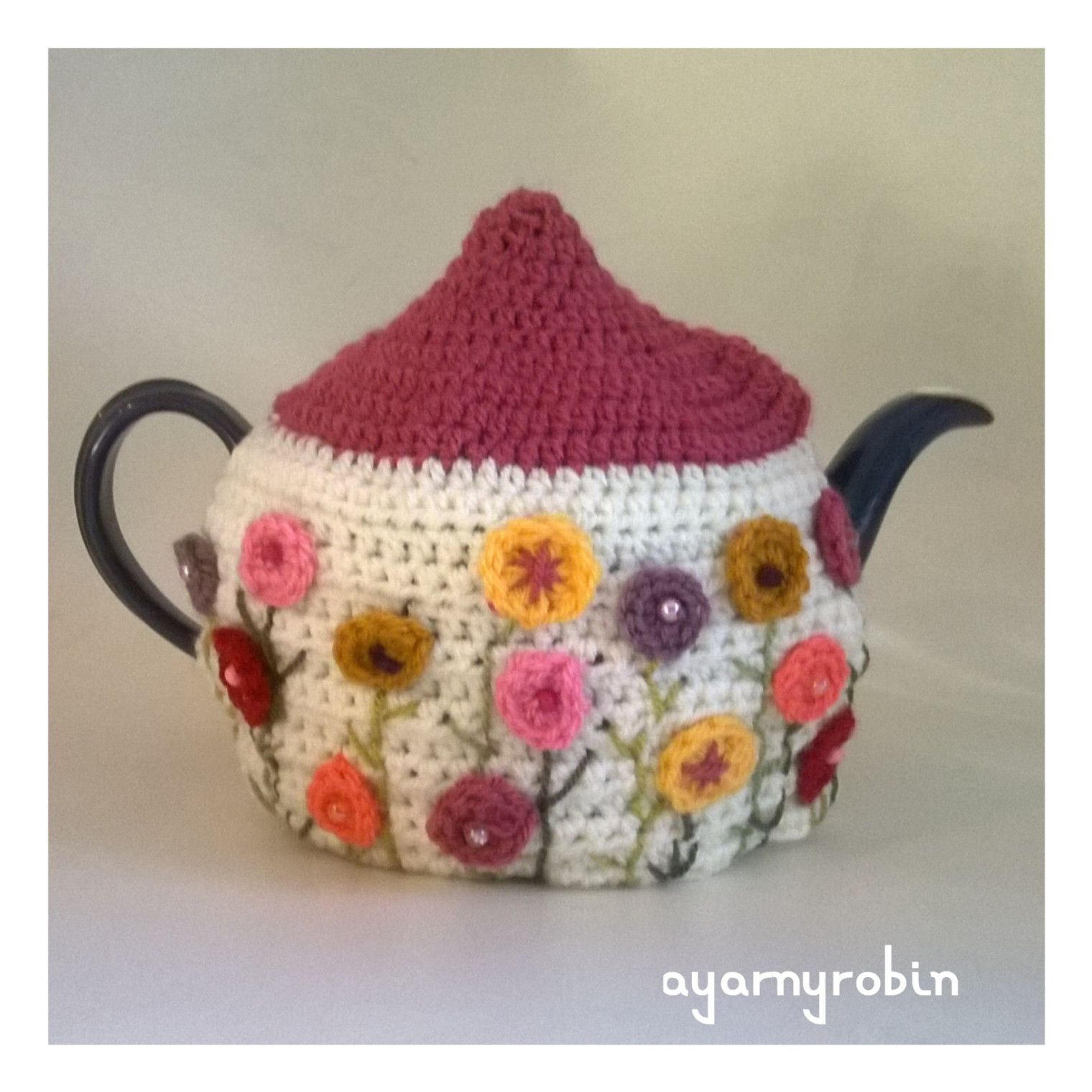 The Grandma Dot Tea Cosy, crochet tea cosy, The Grandma Collection ...