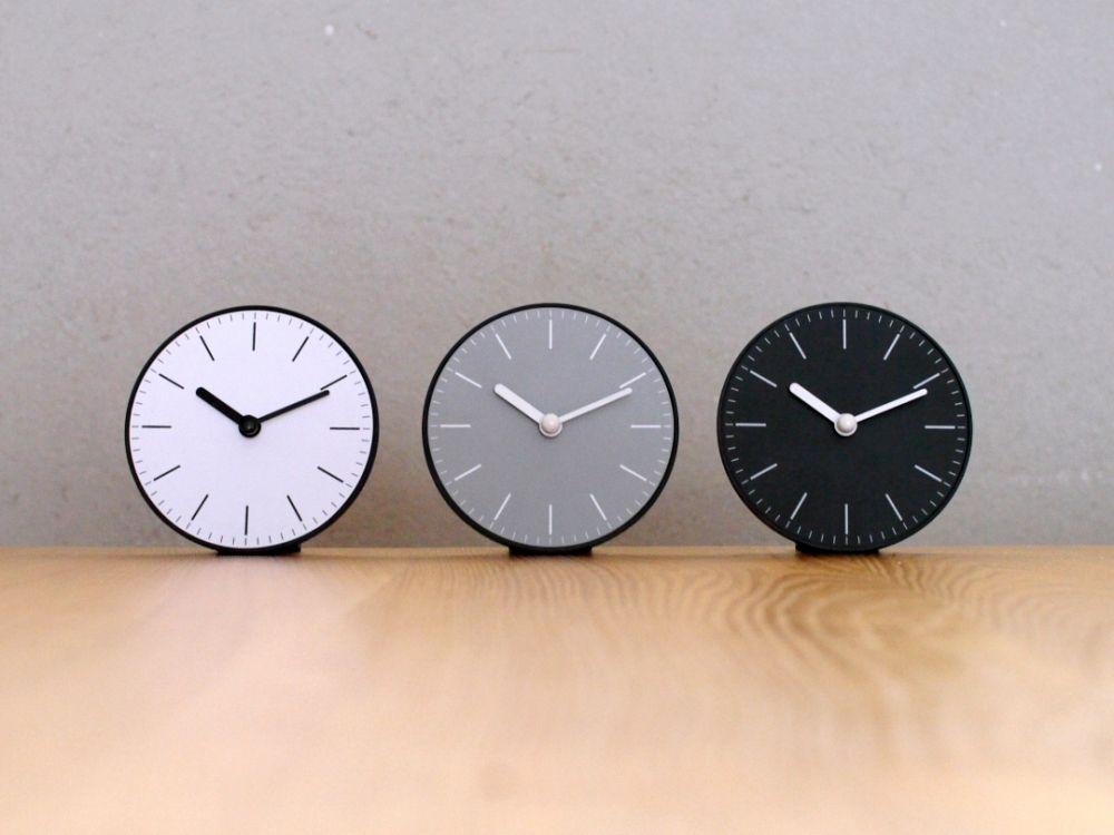 連載 100均セリアの可愛い雑貨 モノトーンでシンプルな時計 Folk シンプル 時計 時計 セリア