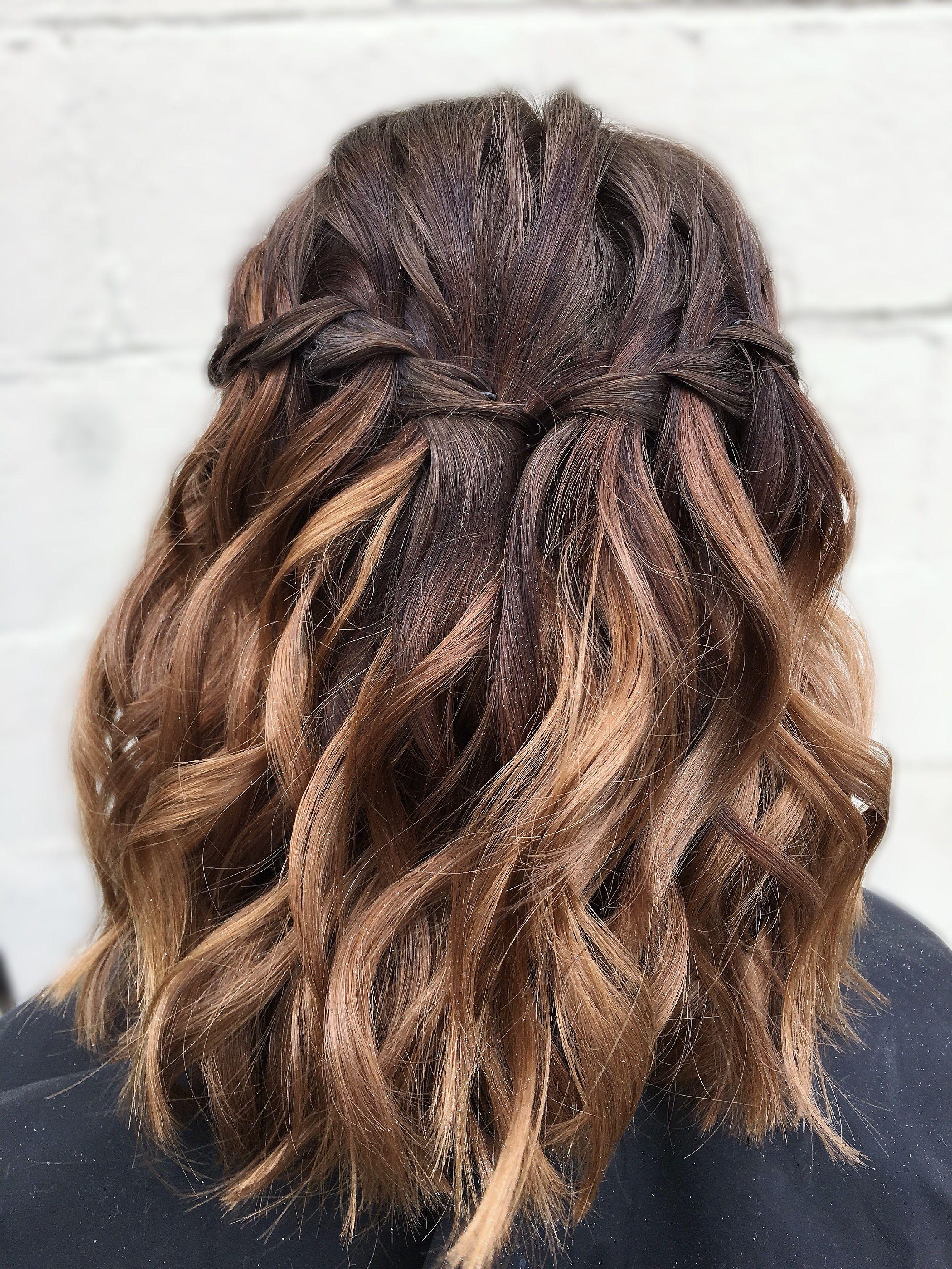 Prom Do Lob Hairstyle Hair Styles Goddess Braids Hairstyles