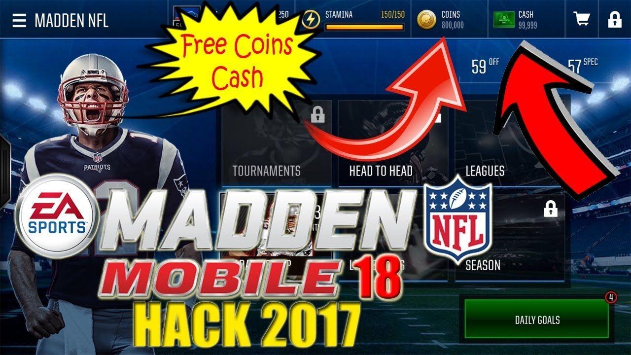 Madden Nfl Mobile Hack Apk August 2020 No Survey No Password Madden Nfl Mobile Hack And Cheats Madden Nfl Mobile Hack 2020 Updated Madd In 2020 Madden Nfl Nfl Madden
