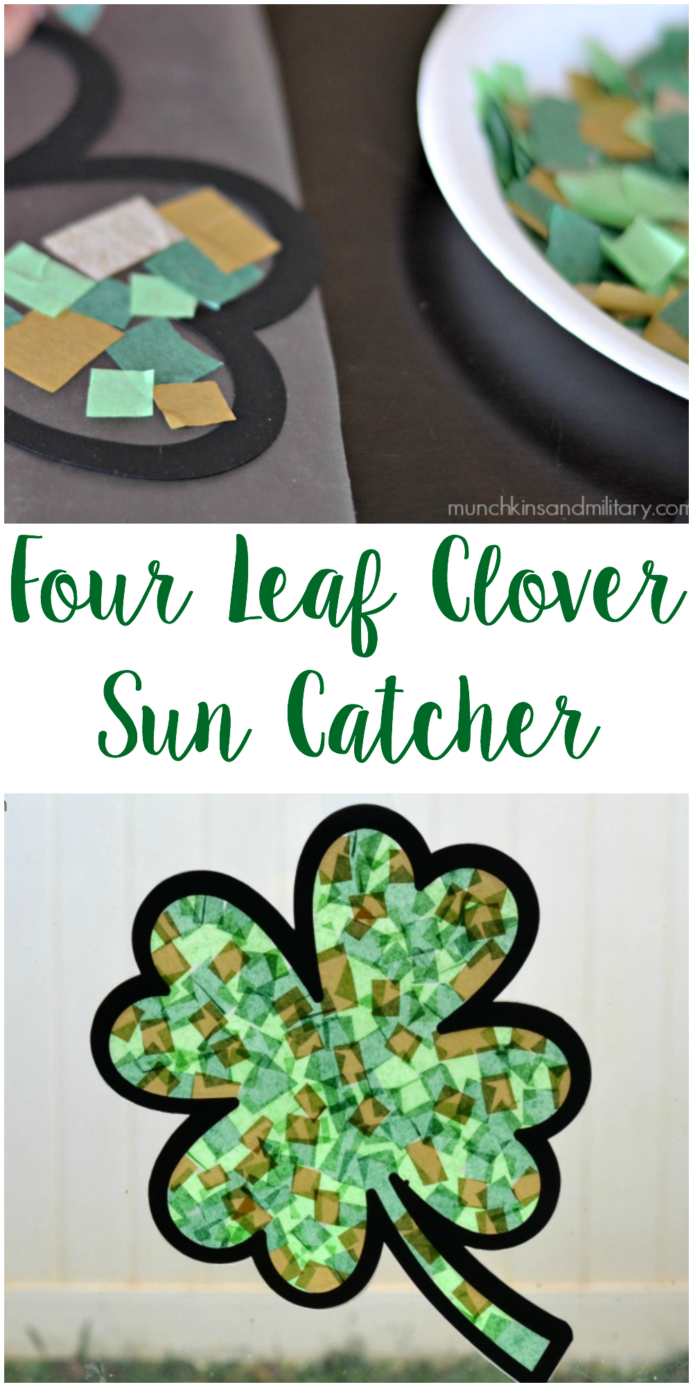 A Simple And Mess Free Craft To Help Kids Celebrate St Patrick S
