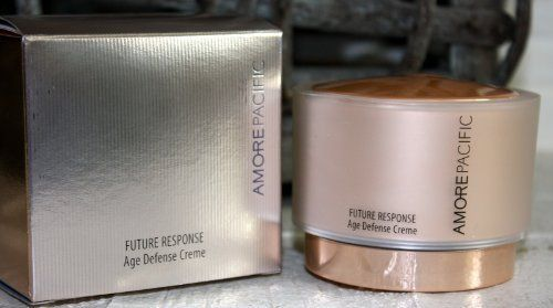 AMOREPACIFIC Future Response Age Defense Creme DLX Size, NEW by AMOREPACIFIC. $16.05. Size : .27 oz / 8 ml (deluxe travel size jar). New in a box. For reference full size retails for $195.00. AMOREPACIFIC Future Response Age Defense Creme. What it is: A reparative cream that protects the skin against environmental aggressors and guards against aging.   What it does: Indoors and outdoors, the environments where we live and play can cause stress to our skin and leave us with perma...