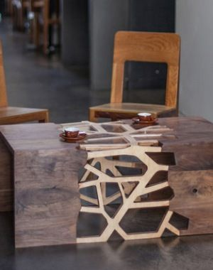 TABLE BY GRADIENT MATTER
