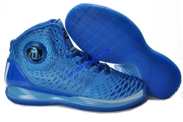 Adizero Rose 3.5 Adidas All Blue Glow G48890 Derrick Rose Shoes 2013 ...