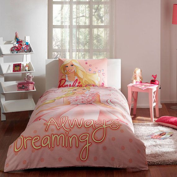 Barbie Sparkle Bedding Set Single Twin, Sparkle Bedding Set Single