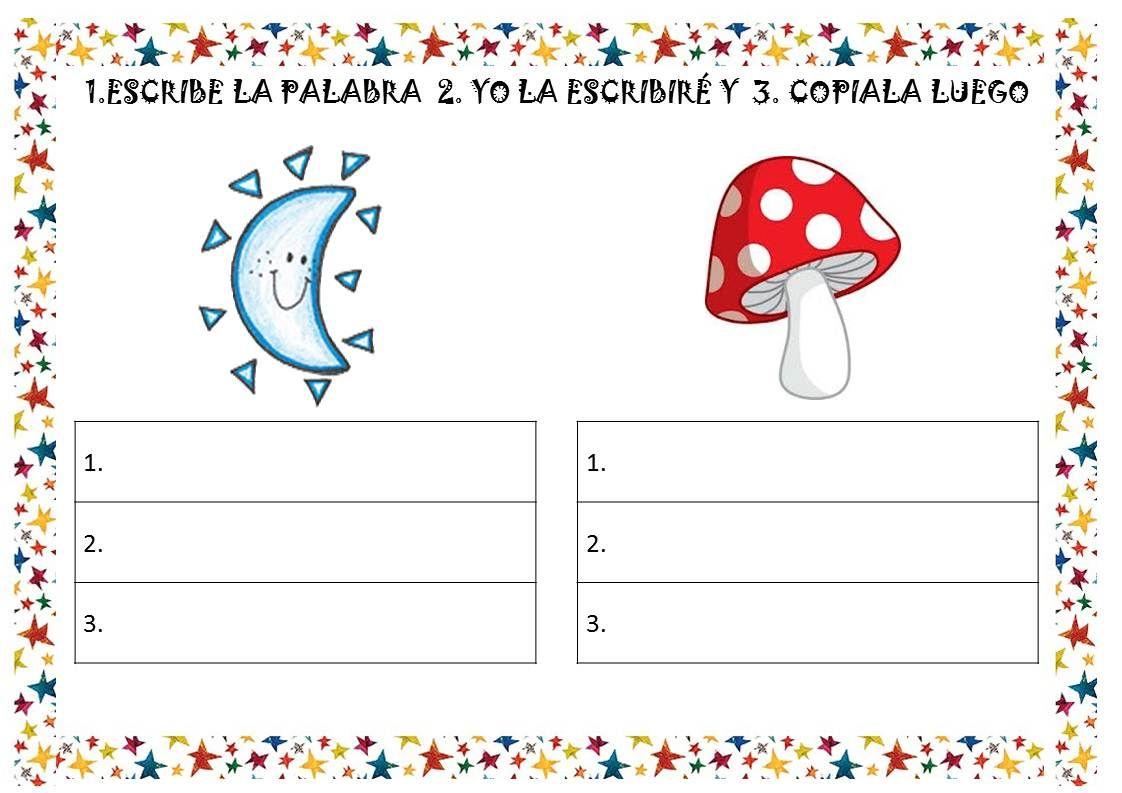 Juega Con Las Palabras Fichas De Vocabulario Infantil