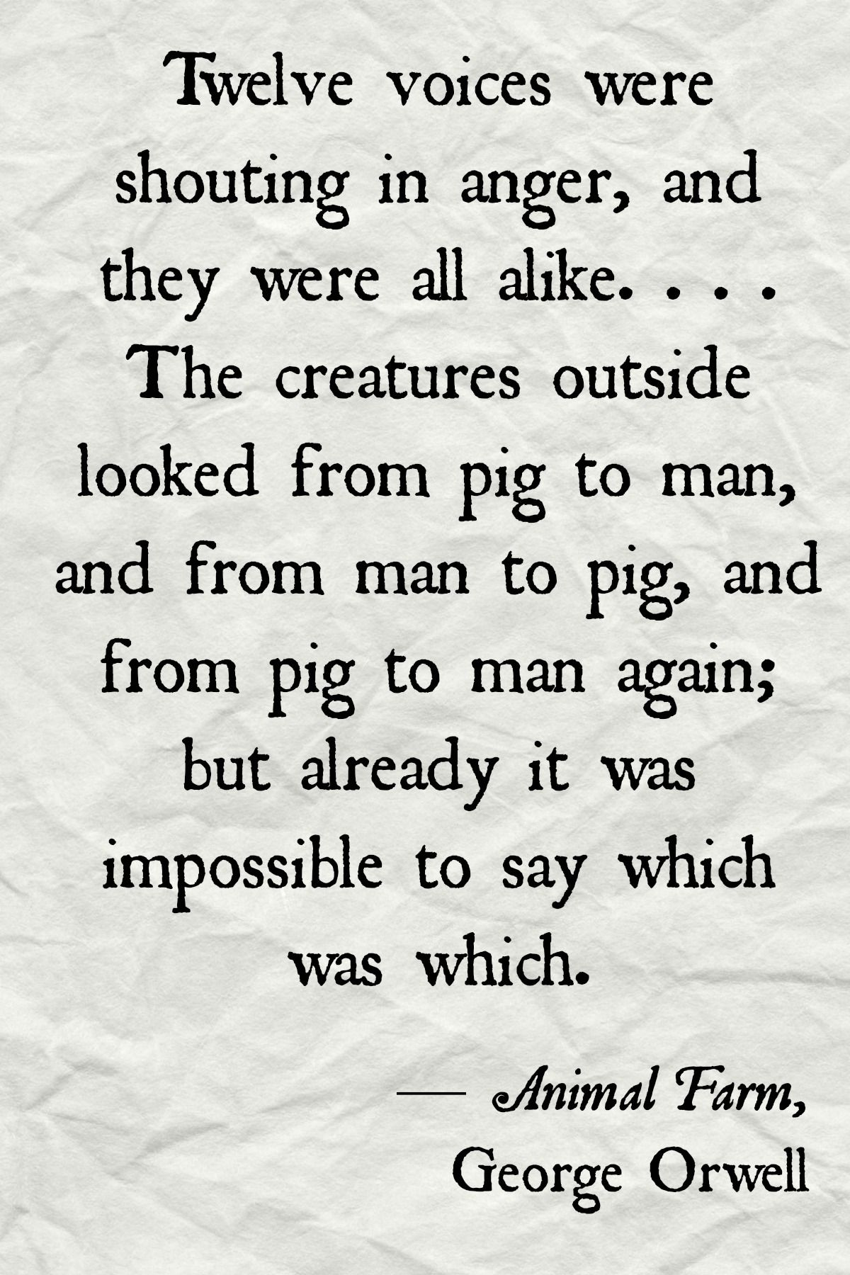 Animal Farm Quotes Favorite Quotations From Animal Farm  The Stephenking Message
