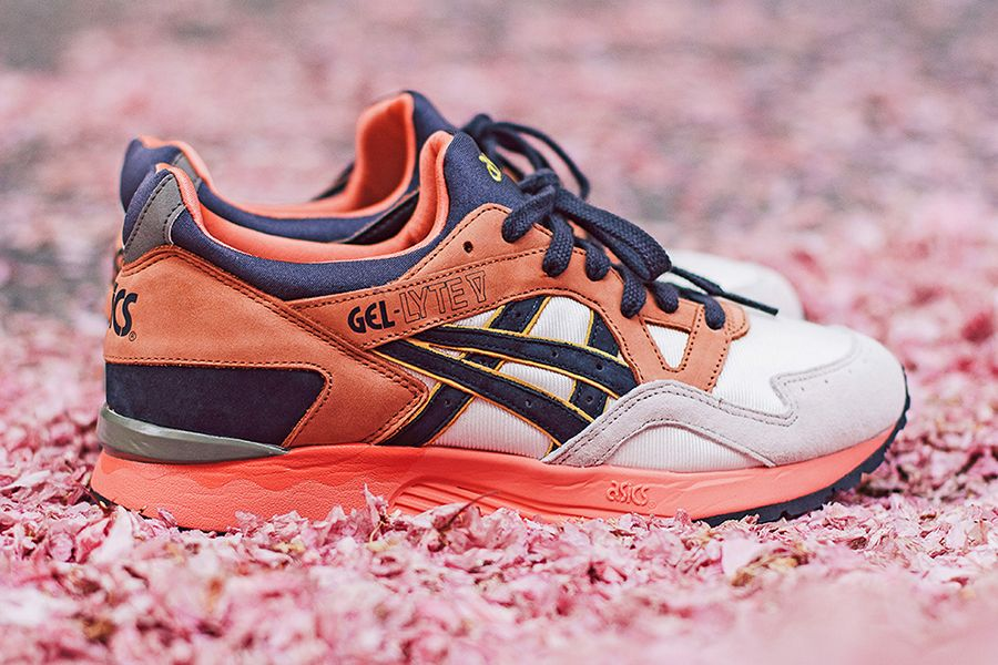 Lyte Asics style V Gel baskets look Midnight mode Bloom p6pUwP