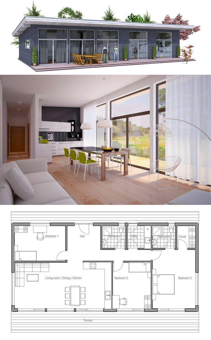 Beautiful Kleines Haus · Haus PläneSchwedenhausGrundrisseVersandbehälter ... Design