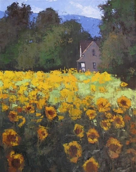 Romona Youngquist - Country Sunflowers