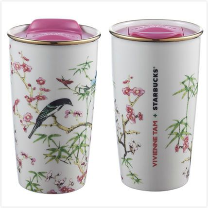 Starbucks Vivienne TAM Collaboration Ceramic Tumbler
