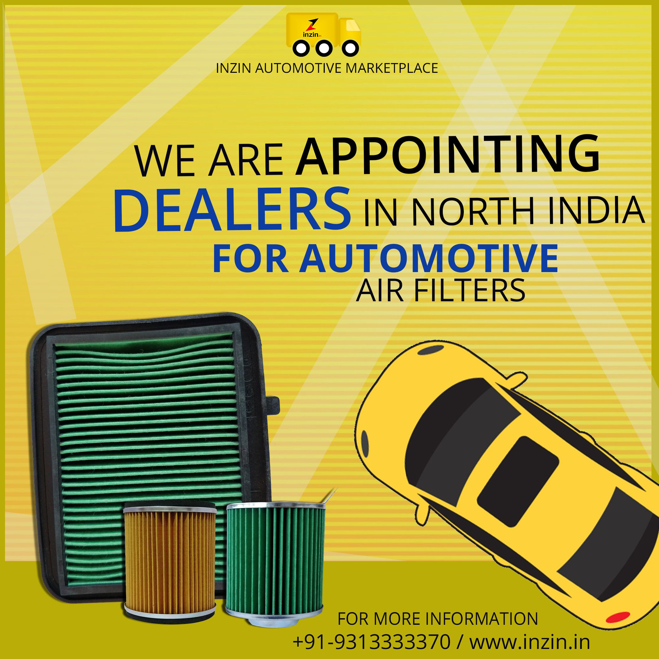 inzin Automotive Marketplace pvt ltd  is Appointing a