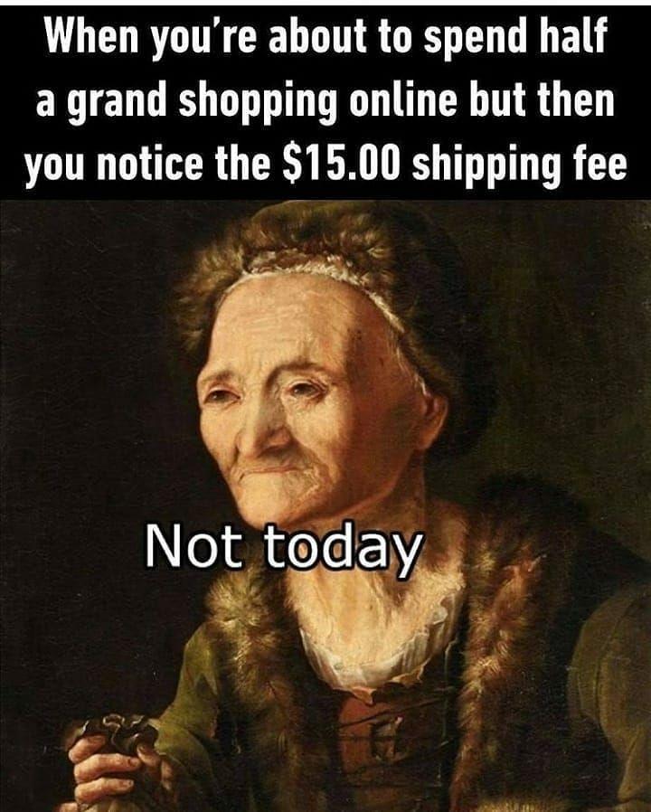 "@hollywooddevilofficial shared a photo on Instagram: ""Not today Satan. . . . . . . #nottoday #nottodaysatan #shopping #shoppingonline #shoppingaddict #shoppingcart #shoppingspree…"" • Aug 28, 2020 at 12:20pm UTC"