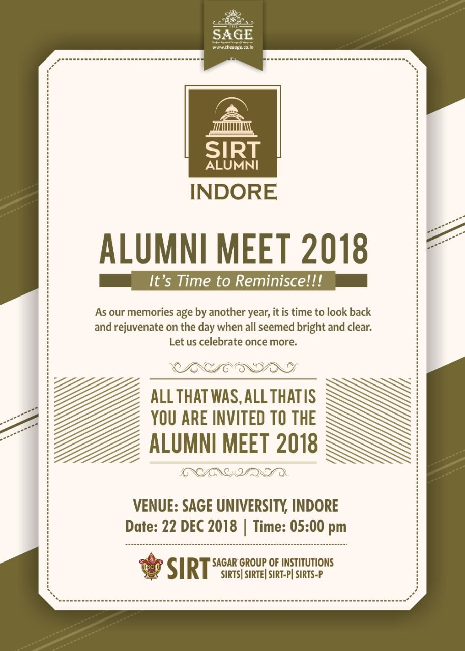 Alumni Meet 2018 A Founder Can Carry An Institution Only So Far And Then Others Have To Step In Eve Top Engineering Colleges Engineering Colleges Alumni