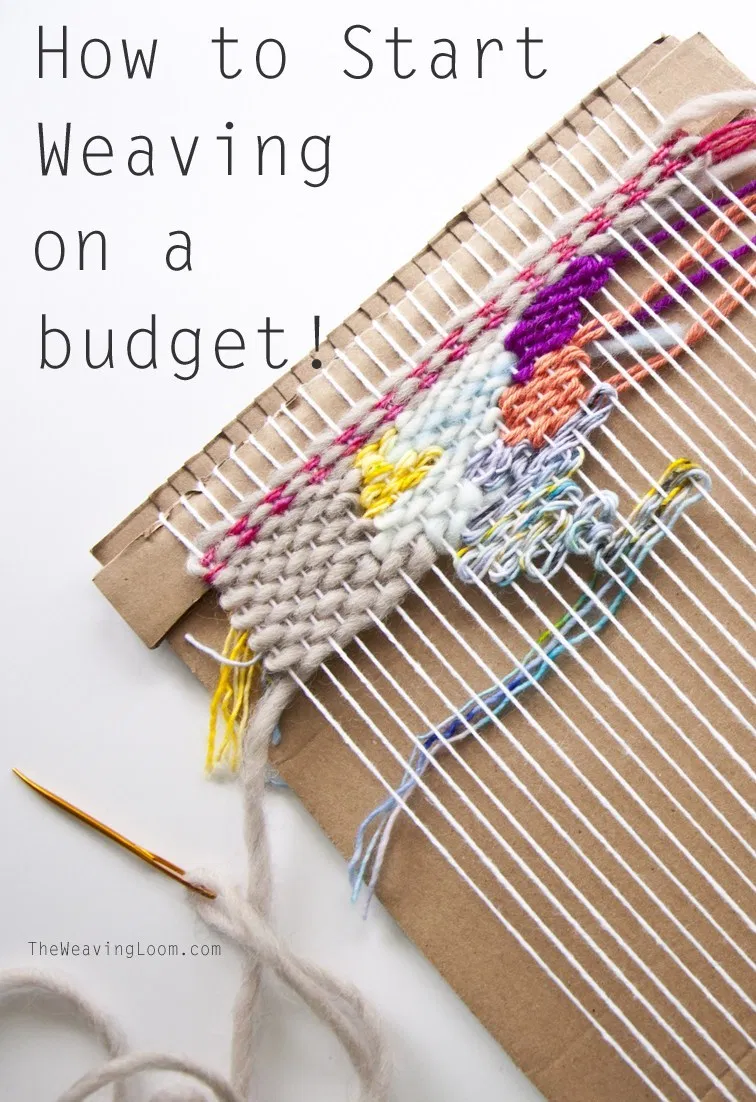 How to Start Weaving for Little Cost | The Weaving Loom