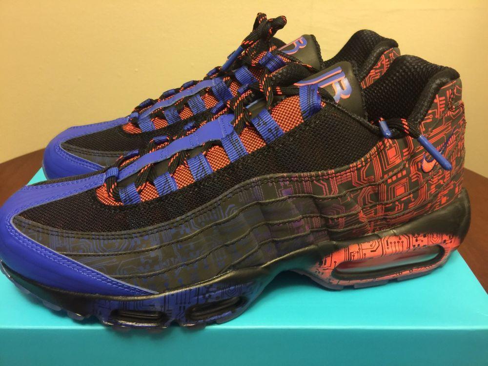 ... Nike Air Max 95 Premium DB Jacob Doernbecher 839165-064 size 10.5 shoes  ...