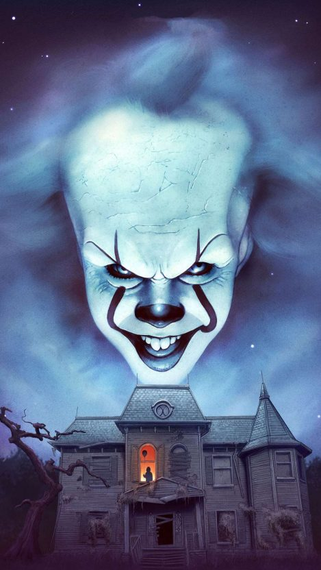 Pennywise IT Chapter iPhone Wallpaper Free GetintoPik