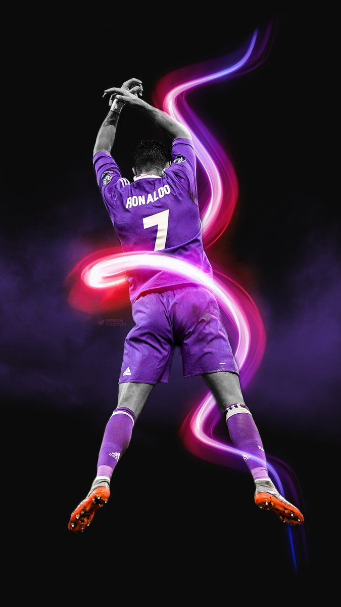 Daniel (@DesignFootyIG) | Twitter Cristiano Ronaldo Champions league phone wallaper edit lockscreen by DesignDaniel. Real Madrid, Football, Calcio, Spain, CR7, Third kit