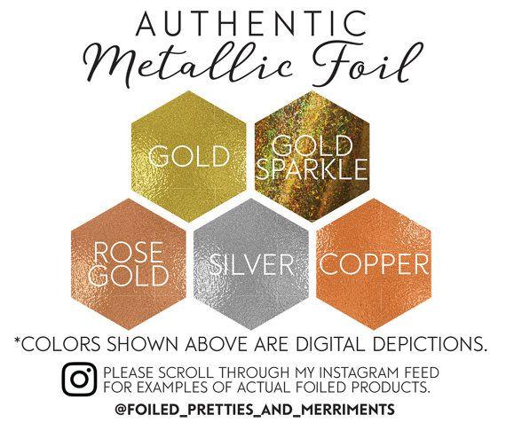 Gold Foil Logo Sticker Teardrop Gold Foil Sticker Custom Wedding - Custom gold foil stickers