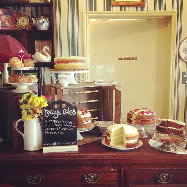 Todays Cakes Biddys Tea Room In Love With This Place Norwich England With Images Tea Room Afternoon Tea Tea Shop
