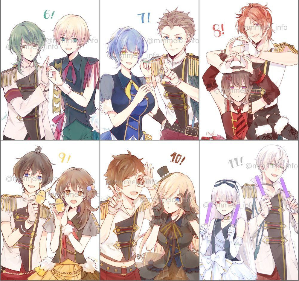 Pin By Alice On Anime Boy In 2020 Tsukiuta The Animation Anime Eye Drawing Anime Friendship