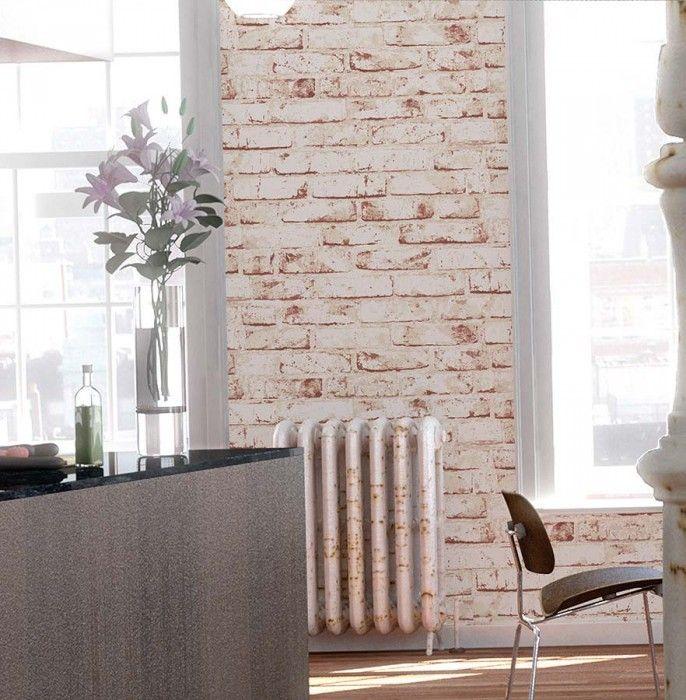 Killa Wallpaper, Art interiors and Room ideas - wohnzimmer tapeten braun beige