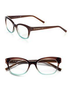 4e897539e3fe Kate Spade New York - Amilia 50mm Square Optical Glasses ...