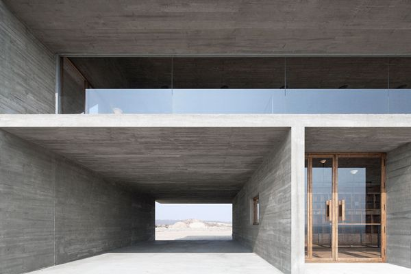 Seashore Library By Vector Architects Stylejuicer Library Architecture Concrete Architecture Architect