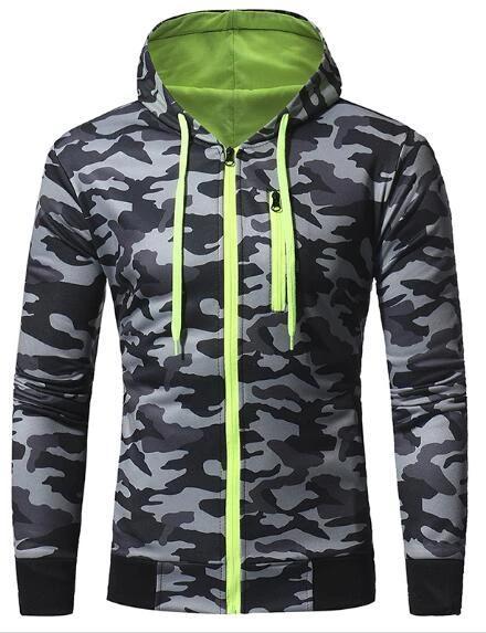 Men Slim Fit 3D Print Long Sleeve Pullover Hoodies Hooded Sweatshirt Tops Coats