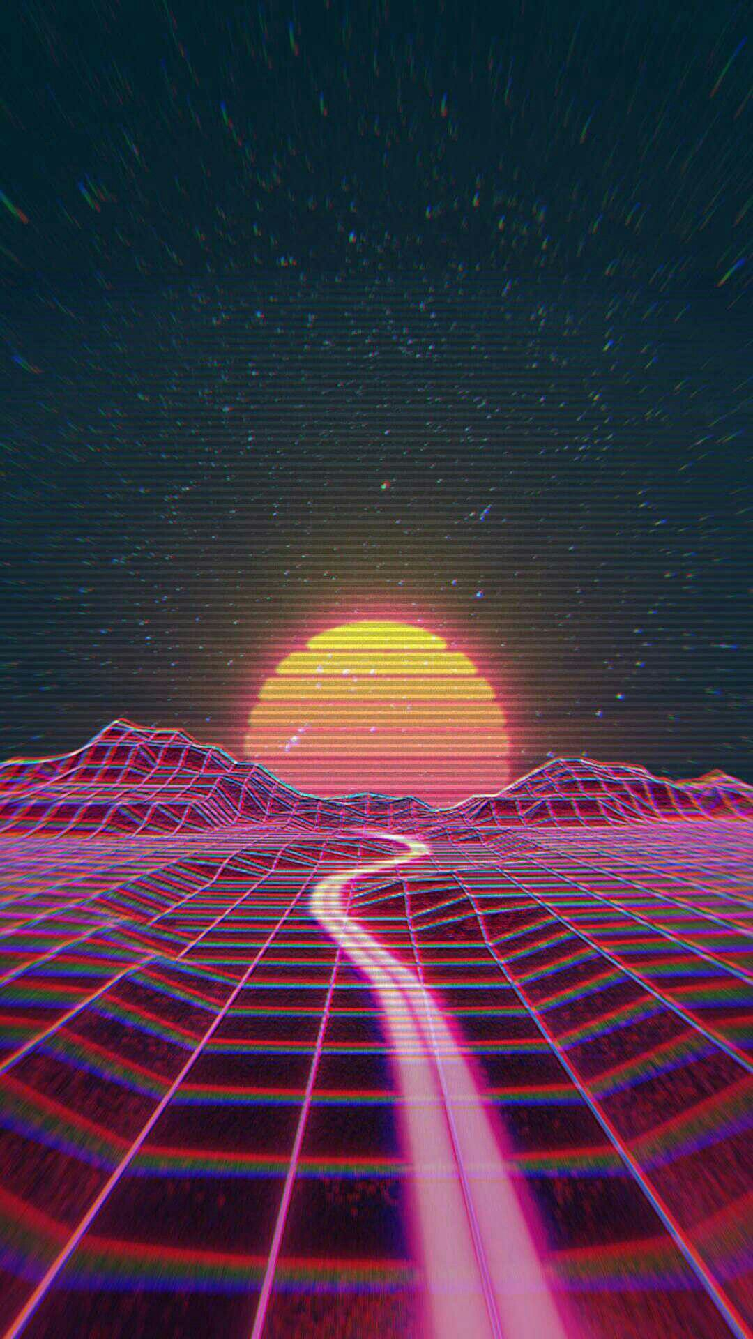 æighties æsthetic | My asthetic in 2019 | Aesthetic wallpapers, Vaporwave wallpaper, Wallpaper