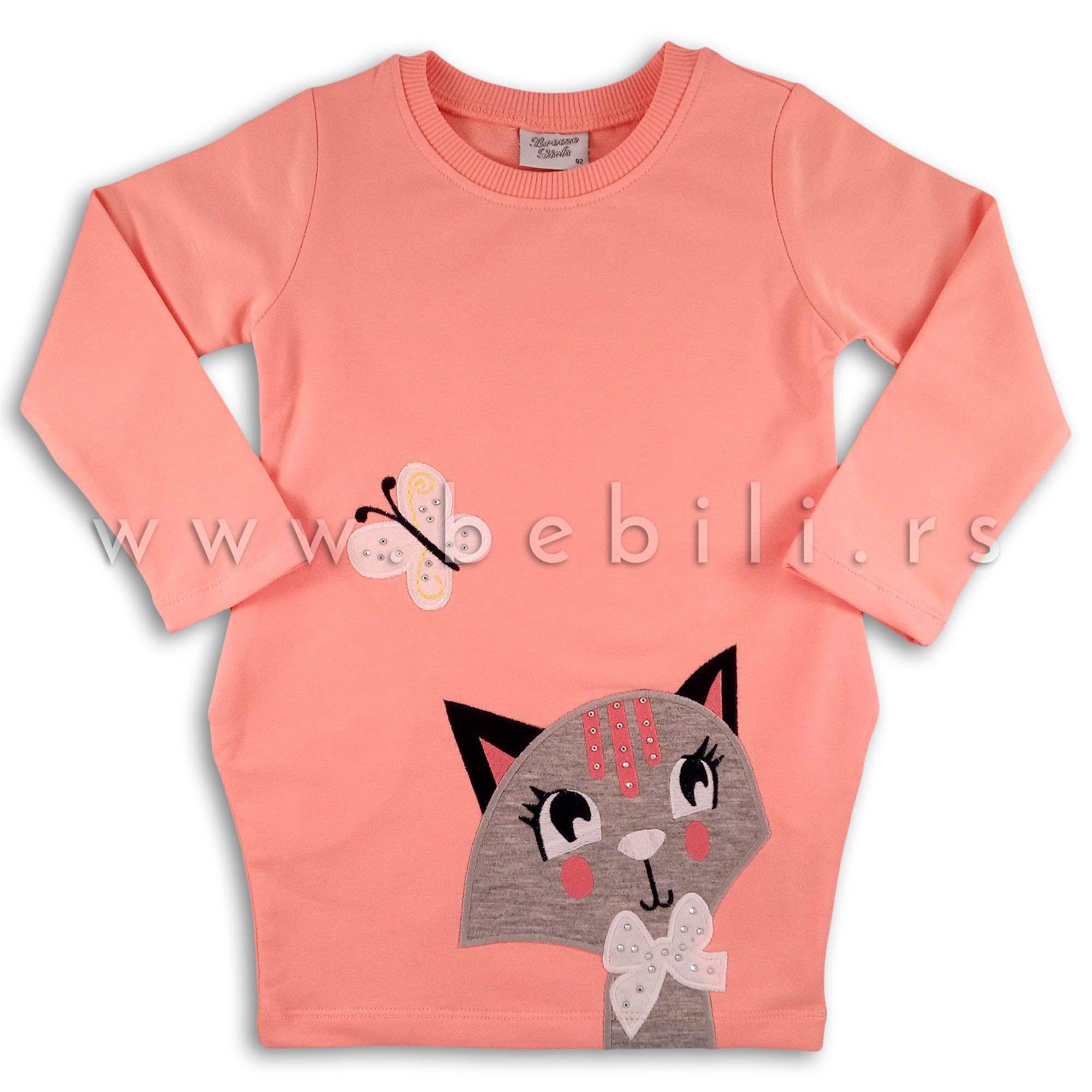 Bebi Haljina Breeze Kitty Kids Dresses Girl Fashion Baby Girl