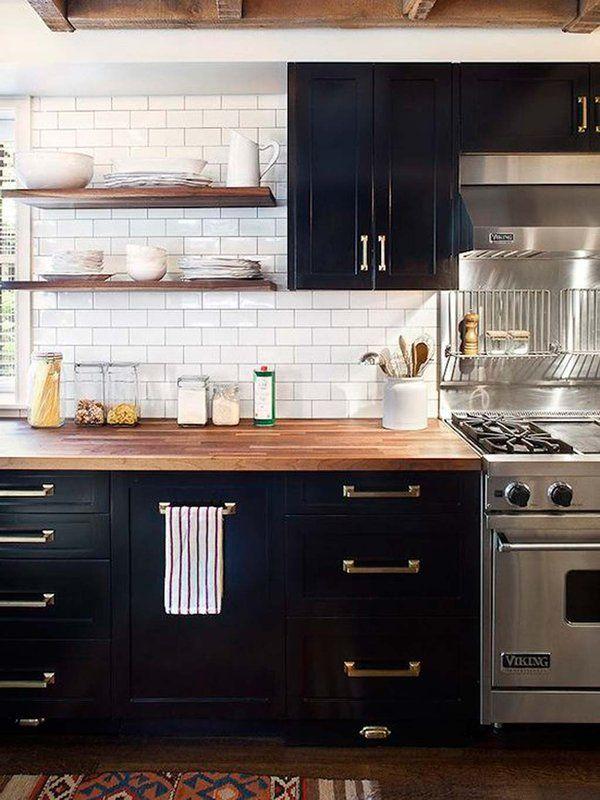 Las cocinas negras son las nuevas cocinas blancas House