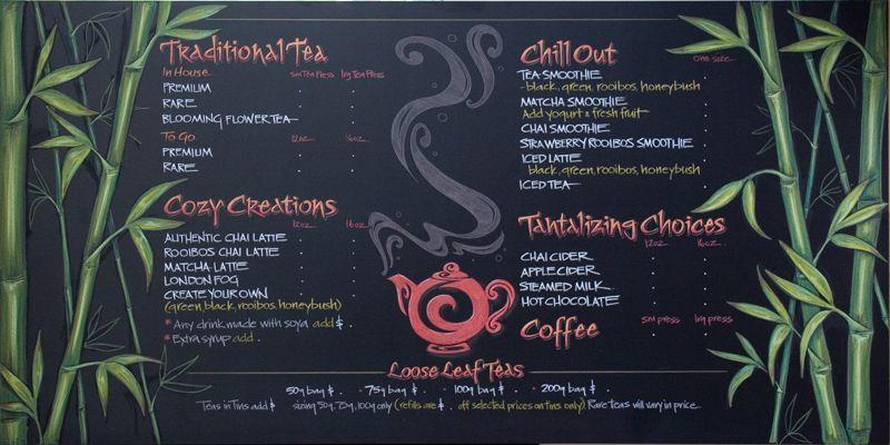 17 Best images about Chalkboard Menu Ideas on Pinterest   Bakeware ...