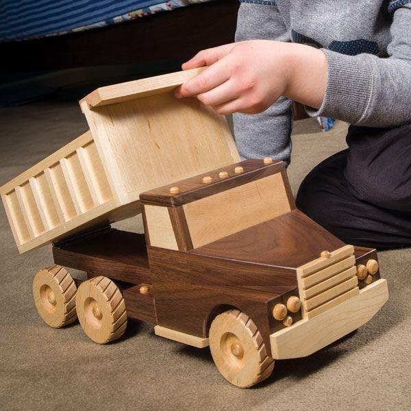 Woodcraft Magazine - Tough Enough Dump Truck ...