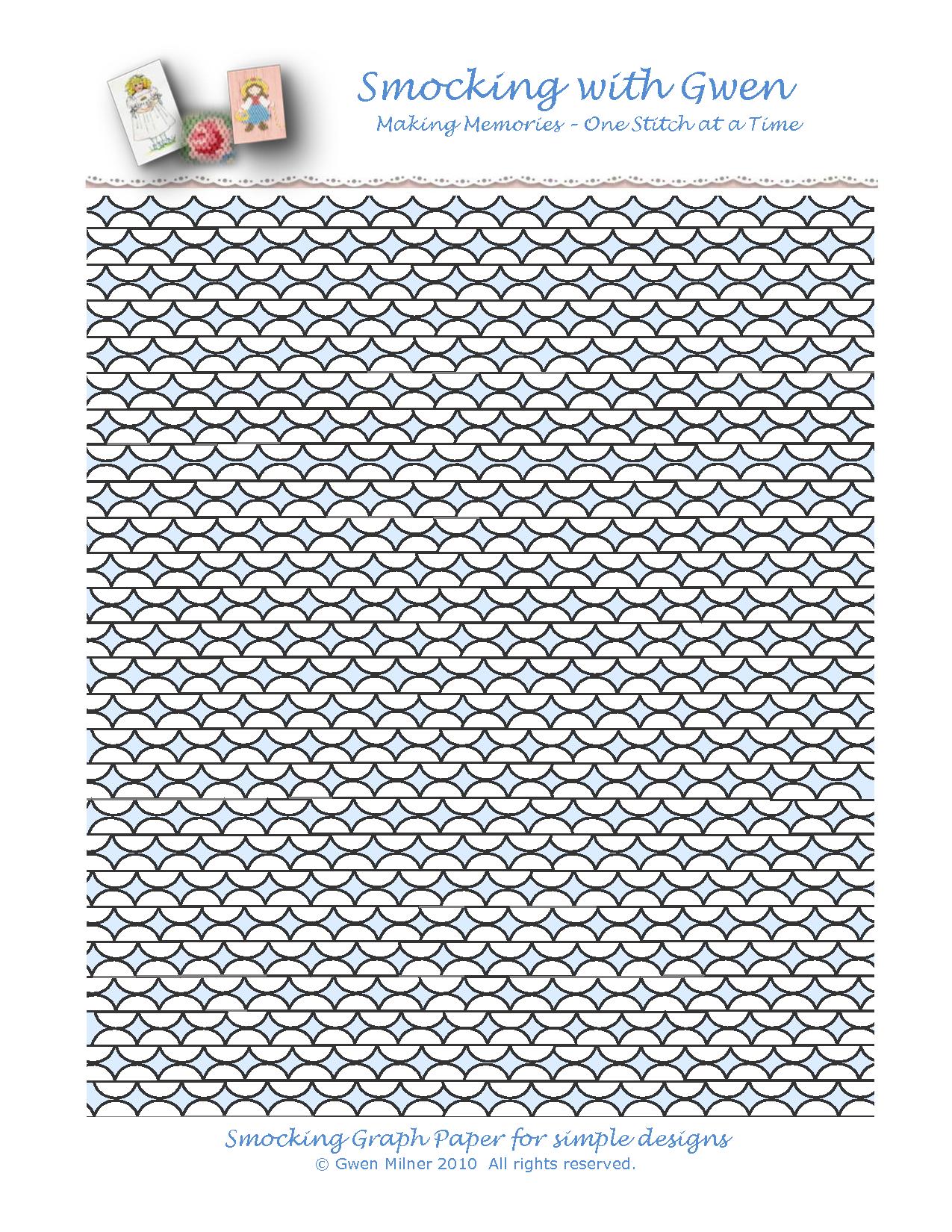 Free Printable Smocking Plates | Free Print Smocking http://www ...
