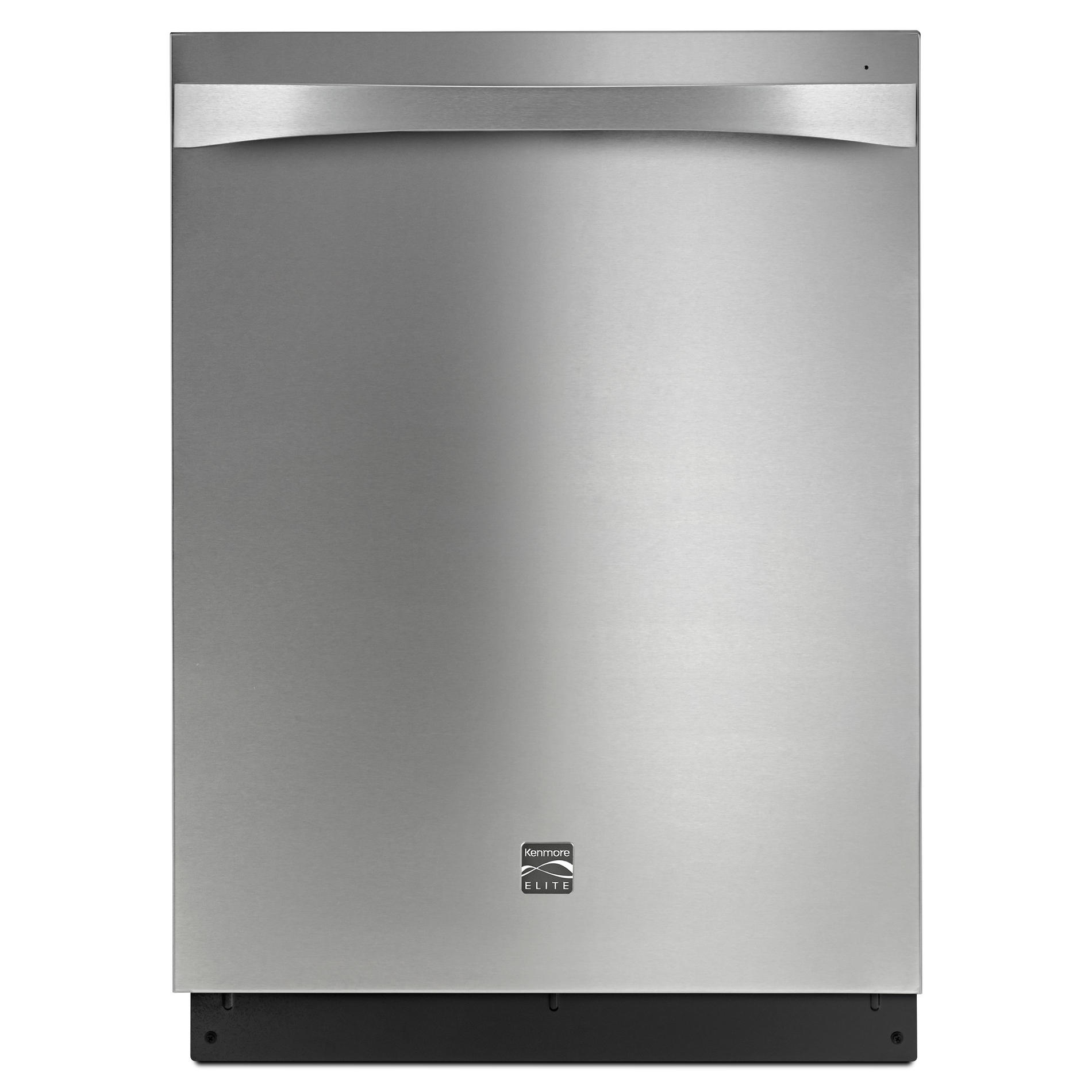 Kenmore Elite 14753 Built In Dishwasher With Turbo Zone 360 Power