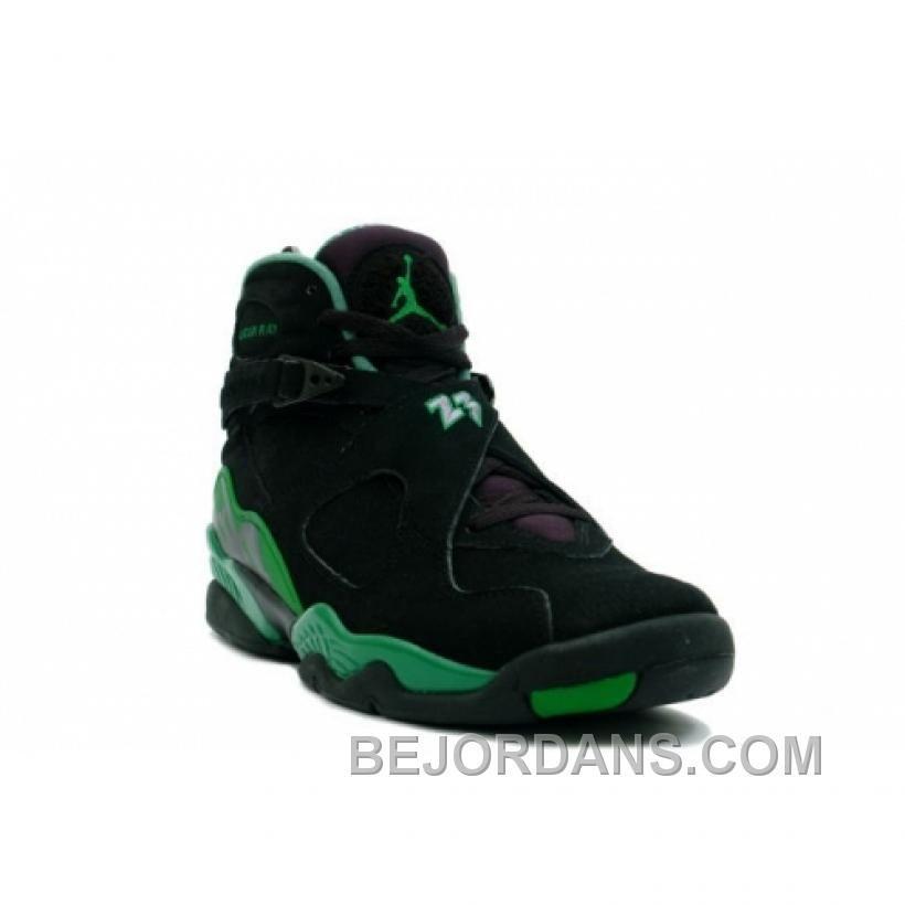 37a937d86ef1 Big Discount Air Jordan Retro 8 Sugar Ray Black Green 305381-002 Xef7p
