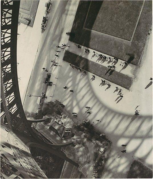 tritonelife: Andre Kertesz, Eiffel Tower, Paris, 1929. Gelatin silver print. Metropolitan Museum.