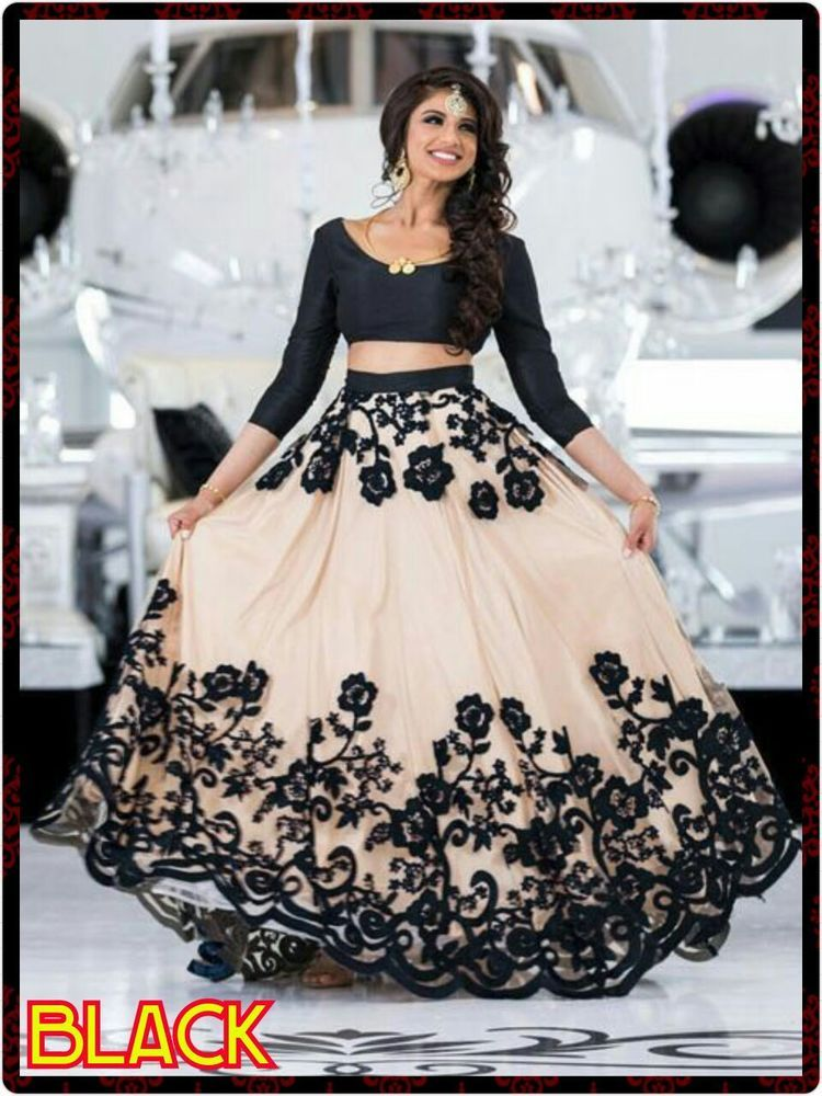 Lehenga Choli Indian Party Ware Traditional Bollywood Designer Embroidery Dress Sunriseinternational Lehengacholi Lehenga Choli Fashion Indian Party Wear