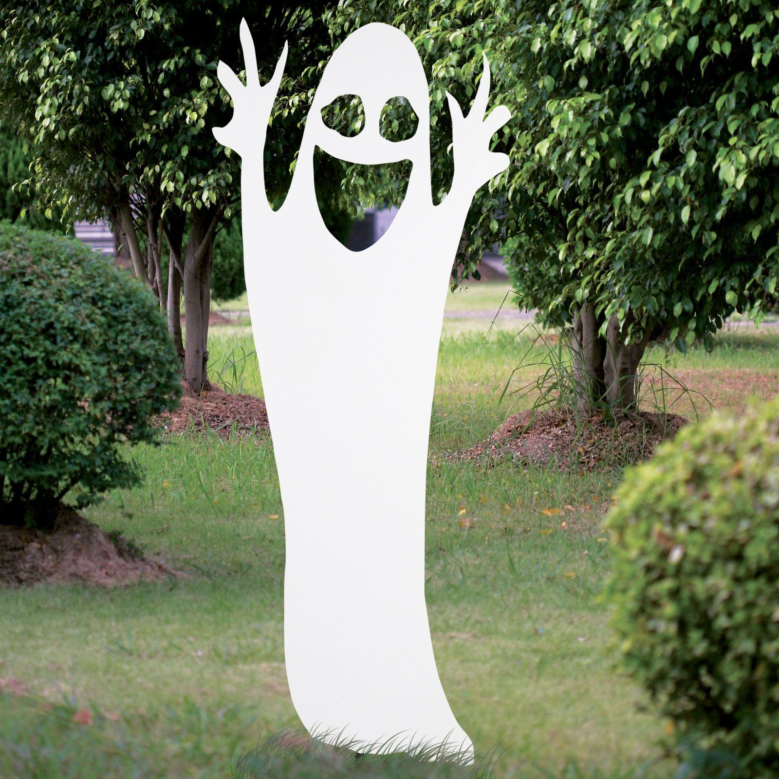 Happy Ghost Silhouette from BuyCostumes.com | Halloween | Pinterest