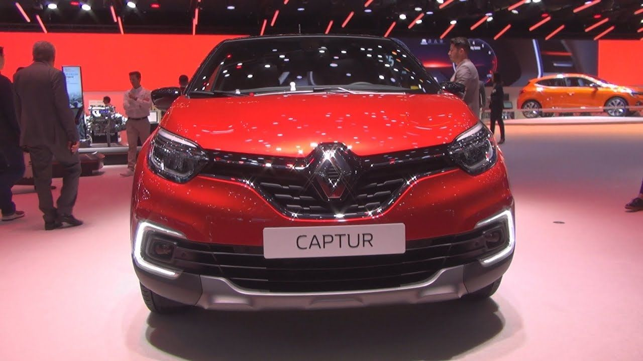 Renault Captur Red Edition Tce 150 Edc Pf 2019 Exterior And