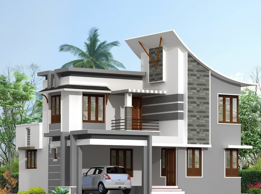 modern home building designs creating stylish and metal house ...