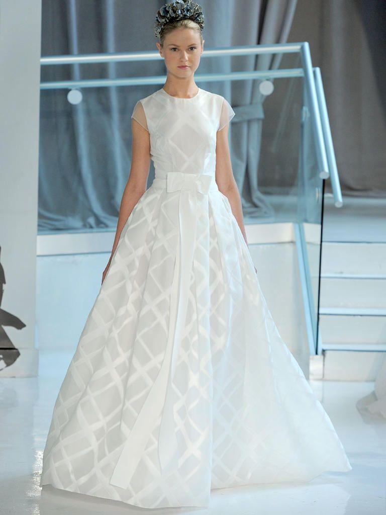 Peter Langner Spring 2018: Edgy and Elegant Wedding Dresses ...