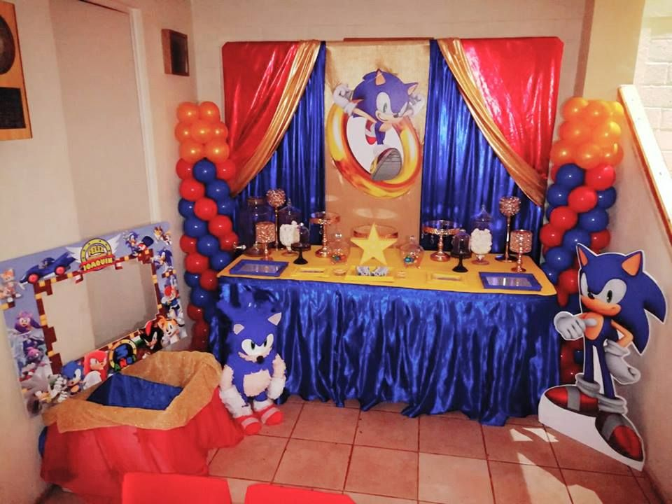 Pin By Melissa Ramirez On Sonic Party In 2019 Sonic Birthday Parties Sonic Party Hedgehog