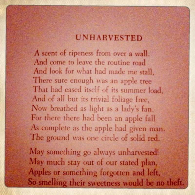 Unharvested